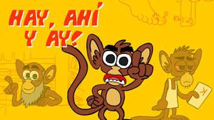 el mico que habla hay ahi y ay
