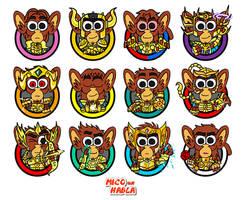 album mico 12 dorados