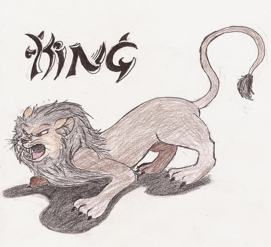 Lion (king) by 200shadowfan