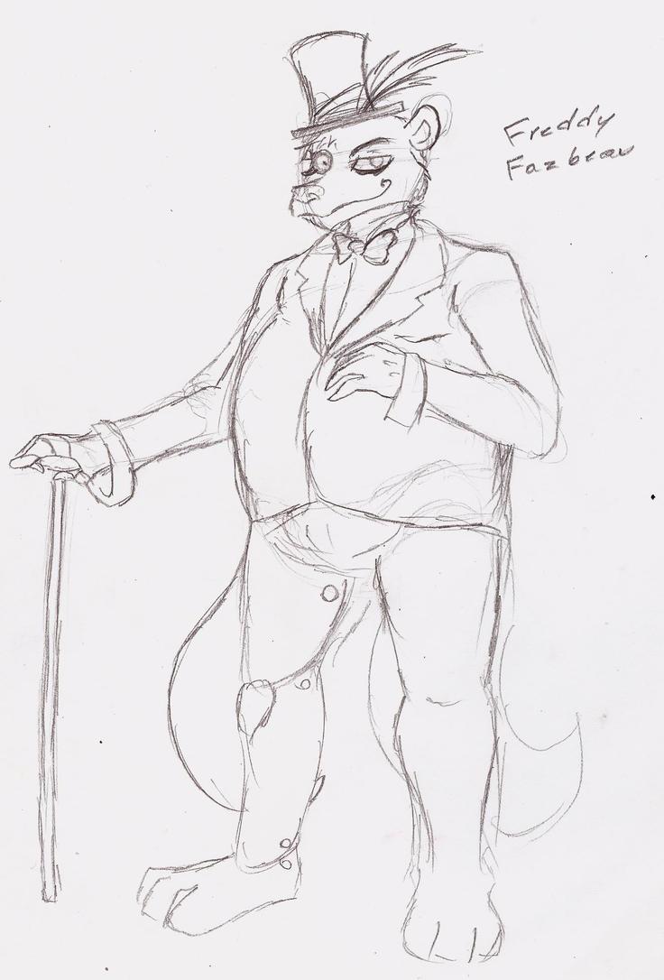Freddy Fazbar (steampunk) by 200shadowfan