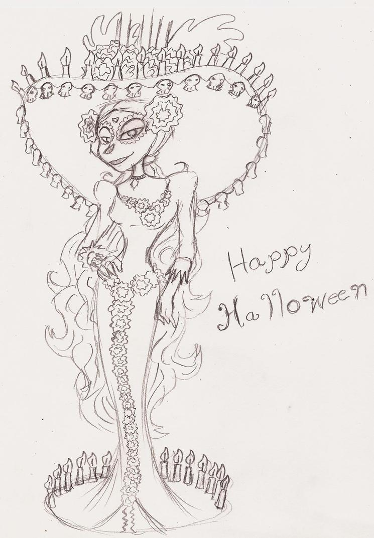La Muerte (happy Halloween) by 200shadowfan