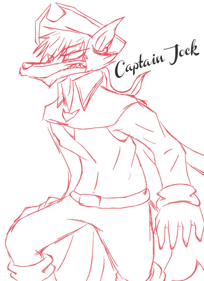 Captain Jock sketch by 200shadowfan