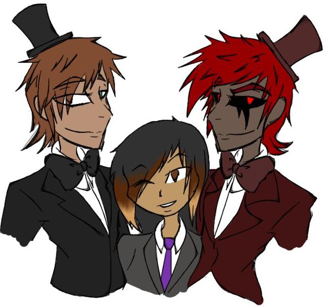 Freddy, Anti-Freddy, and Anon by 200shadowfan