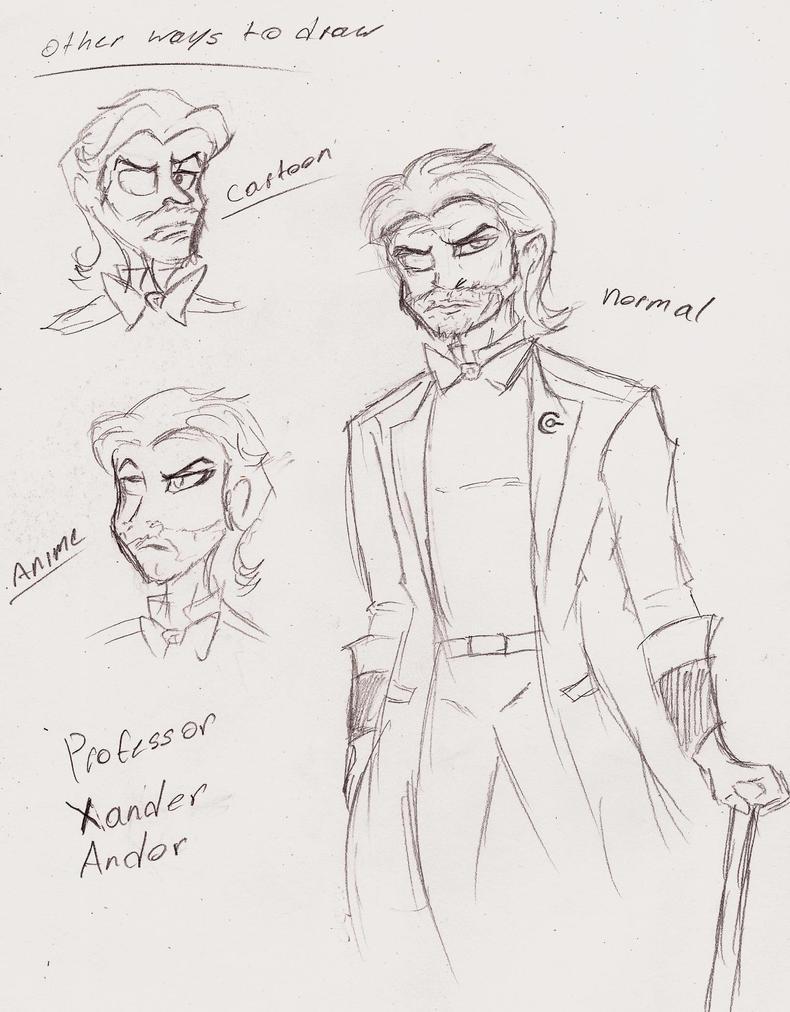 Professor Xander (requested) by 200shadowfan