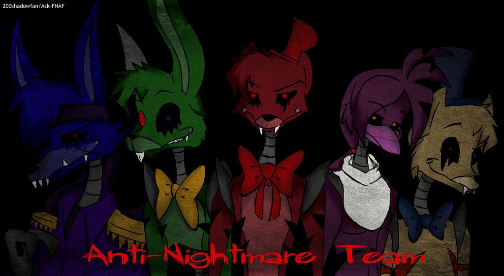 Anti-Nightmare's group. by 200shadowfan