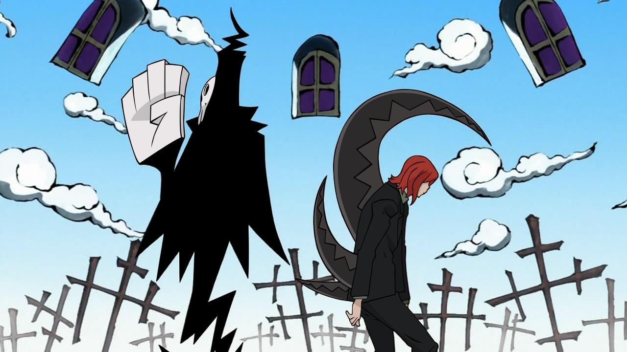 Shinigami And Death Scythe By Sensei Kun On Deviantart