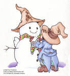Vivi's Snowman