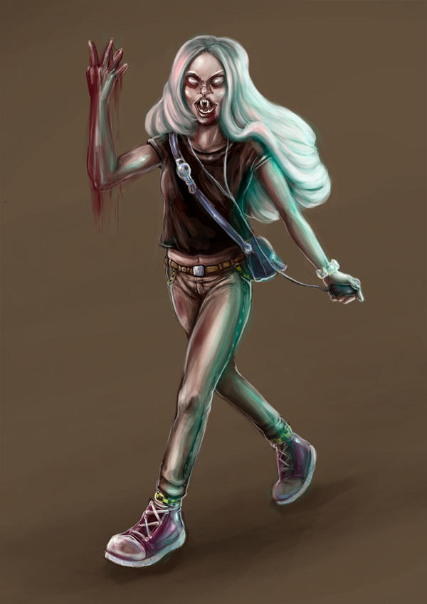 Teen Vampire by terrygu