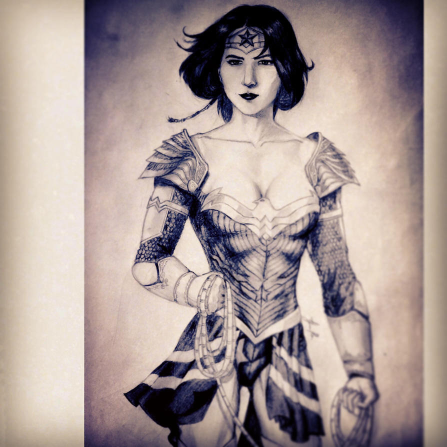 The Wonder Woman by abramratohnhaketon