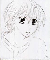 Sketched James by martuxca