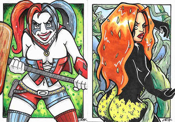 New 52 Harley and Ivy by Poochums