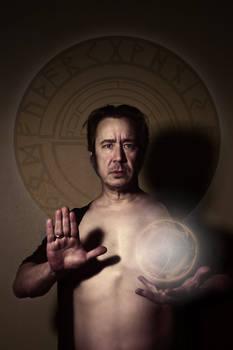 Modern Sorcerer Self-Portrait