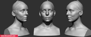 Head Scanning 04 Female01
