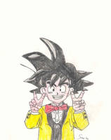 Son Goku by Noloter