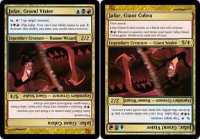 Jafar [MTG fan card] by Noloter