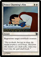 Prince Charming's Kiss [MTG fan card] by Noloter