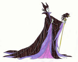 Maleficent (colour) by Noloter
