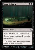 Avada Kedavra [MTG fan card] by Noloter