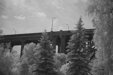 :IR: Bridge by CorvidCam