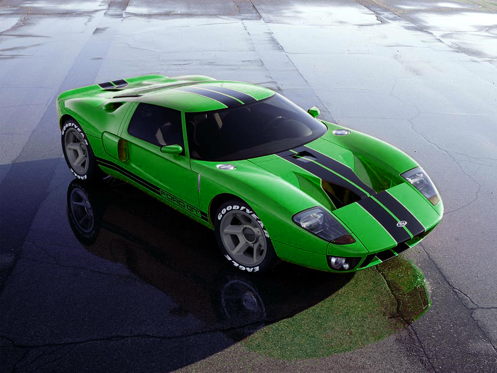 Green Ford Gt By Acorn