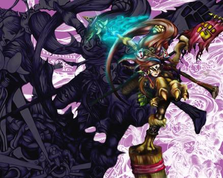 league of legends - preseason 3 digital art