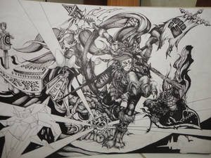 league of legends preseason 3 digital art contest