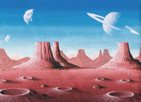 Alien Planet by Frohickey