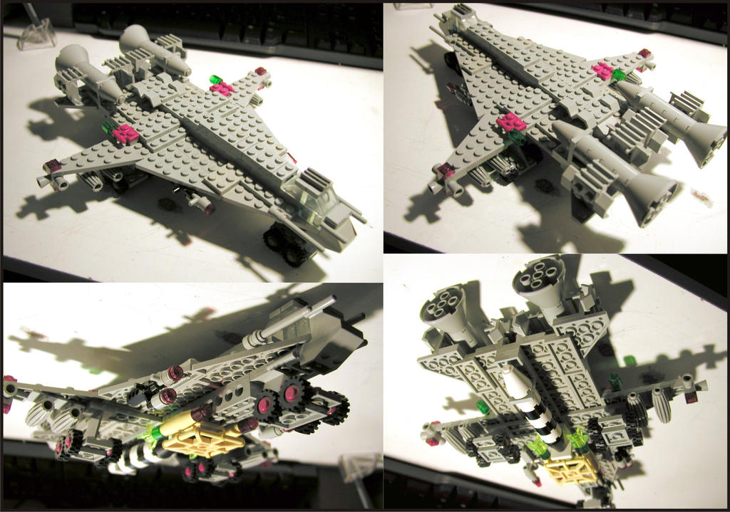 Lego Spaceship By Frohickey On Deviantart