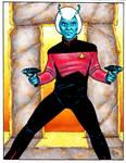 Star Trek NextGen Andorian Guy