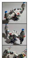 Lego SkyJumper Ship