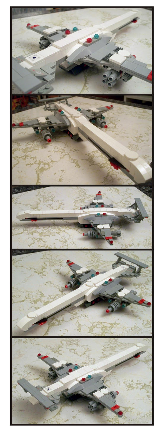 LEGO Supersonic Transport 2 by Frohickey