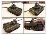 Mock Lego Battle Tank