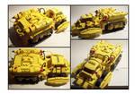 Lego Yellow IR Vehicle
