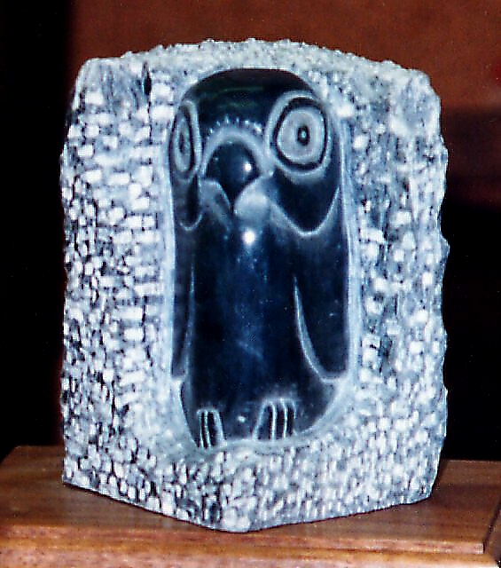 Soapstone owl by frohickey on deviantart