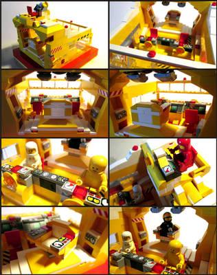 LEGO Starship Bridge by Frohickey