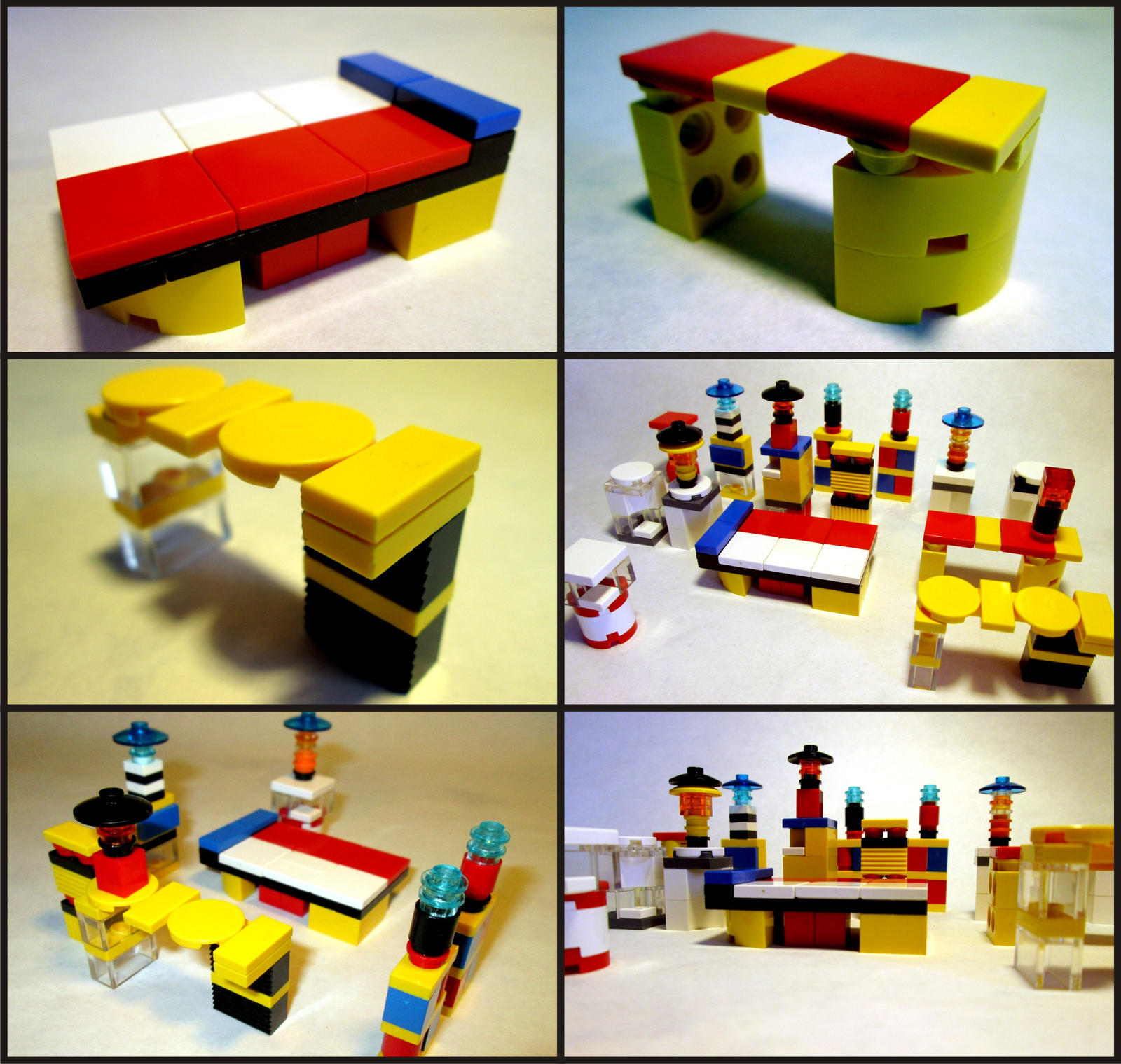 Lego Furniture By Frohickey On Deviantart