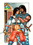 1983 True Love with Swords 2 by Frohickey