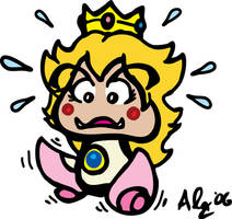 Peach in a Pickle - Color by havochq