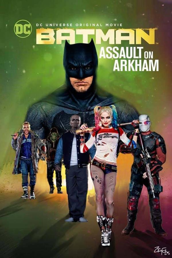 Batman Assault On Arkham Recreation By Jedimasterhulk On Deviantart