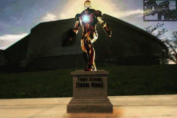 Iron Man - I hope they remember you. by Jedimasterhulk