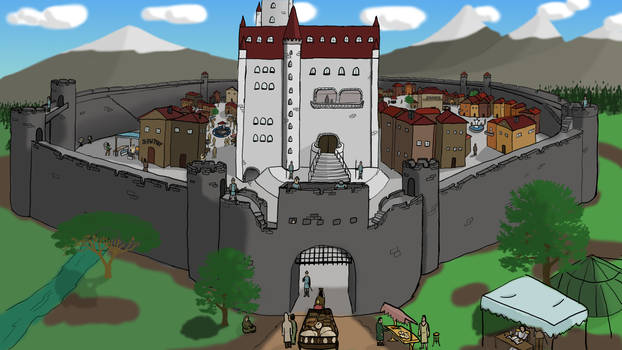 Medieval Fort and Manor