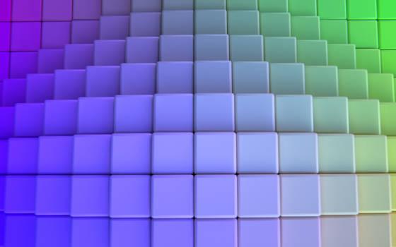 Colorgrid Wallpaper by IamZandar