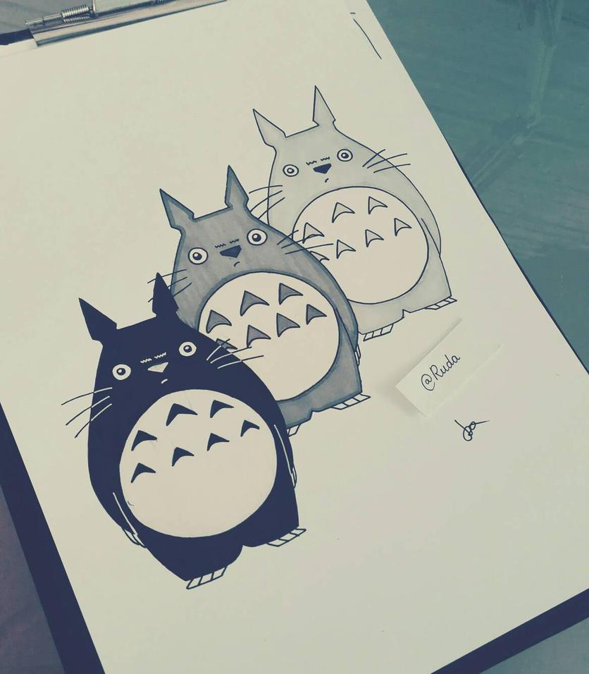 Totoro by pincello