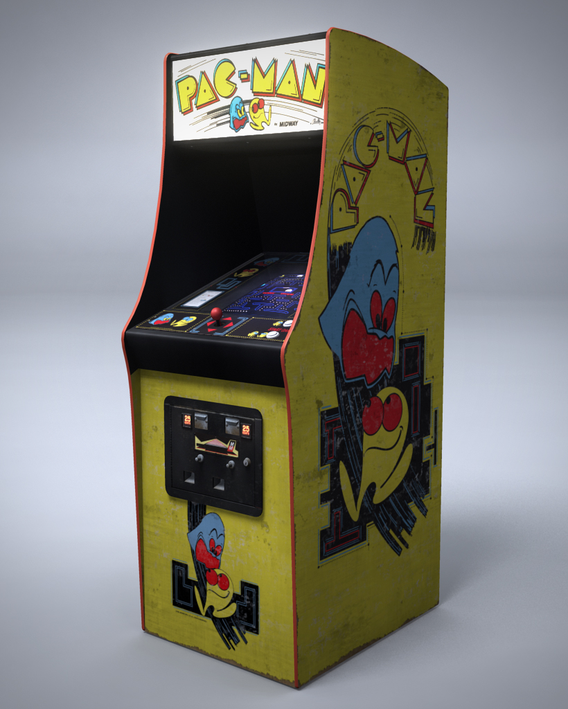 Pac Man Arcade Machine By Nocomplys On Deviantart