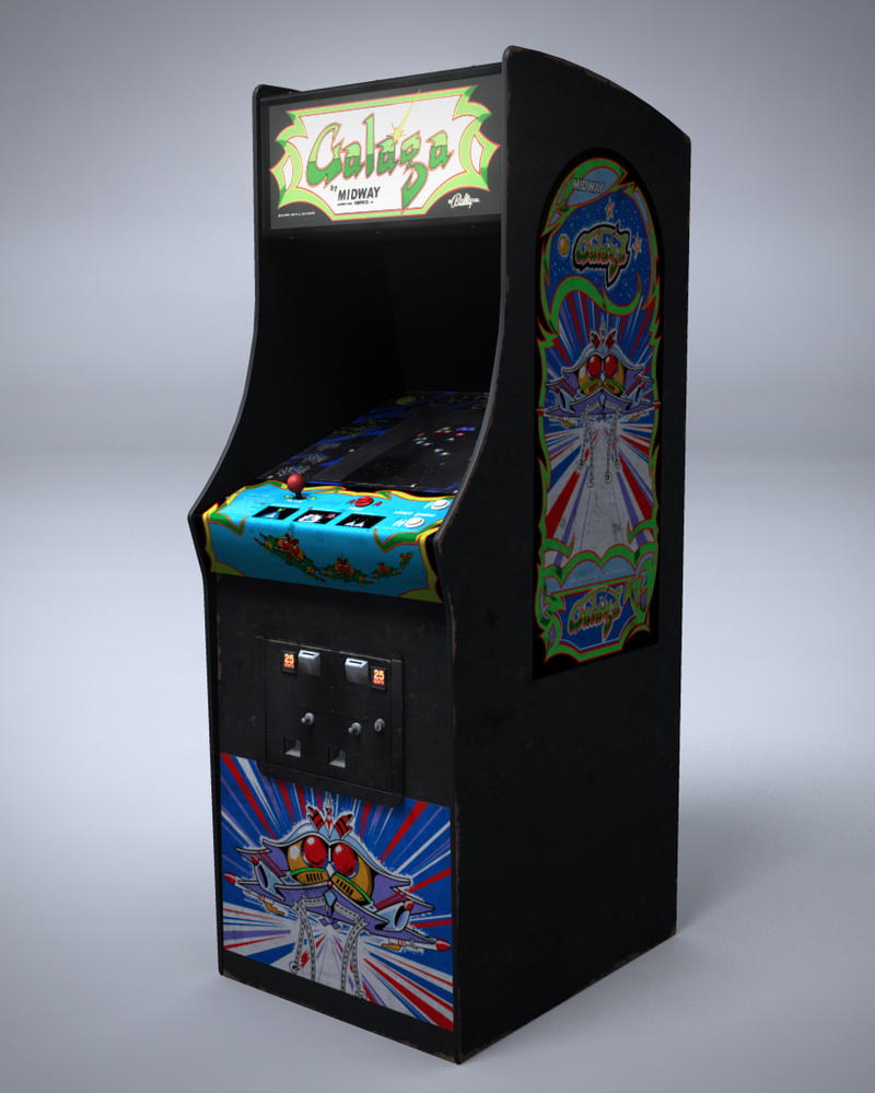 Galaga machine