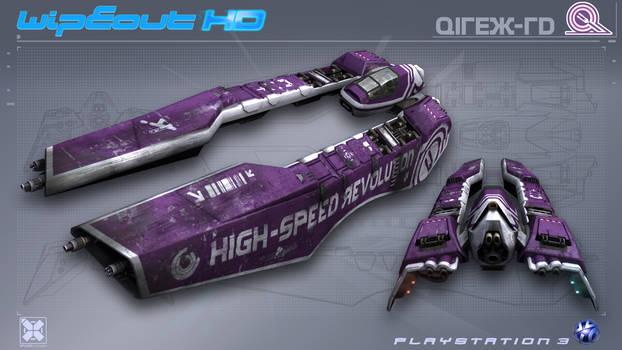 Qirex - WipEout HD - PS3