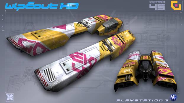 Goteki45 - WipEout HD - PS3