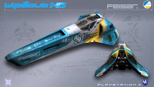 Feisar - WipEout HD - PS3