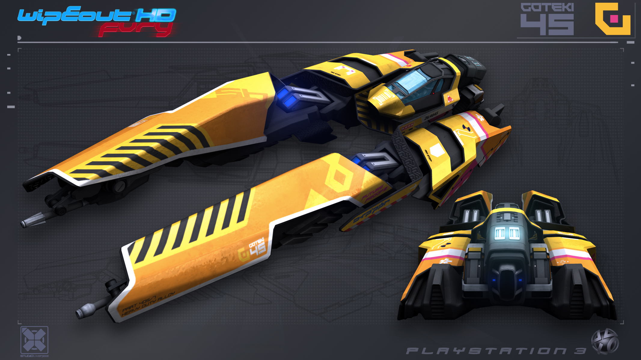 Goteki45 - WipEout FURY - PS3 by nocomplys