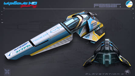 Feisar - WipEout FURY - PS3 by nocomplys